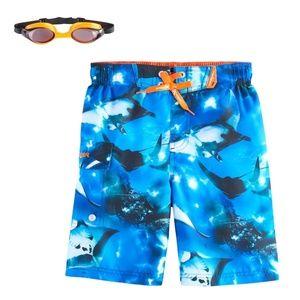 ZeroXposur - Sting Rays Swim Trunks with Goggles